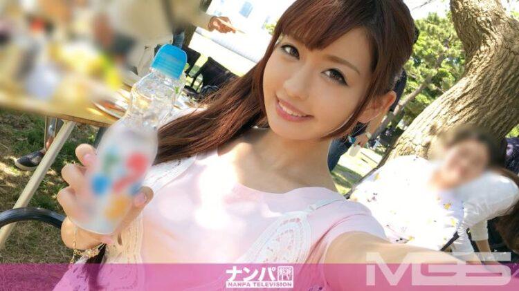【動画あり】メイ 21歳 ガールズバー店員 BBQ(バーベキュー)ナンパ 01 in お台場 200GANA-1044シロウトTV (59)